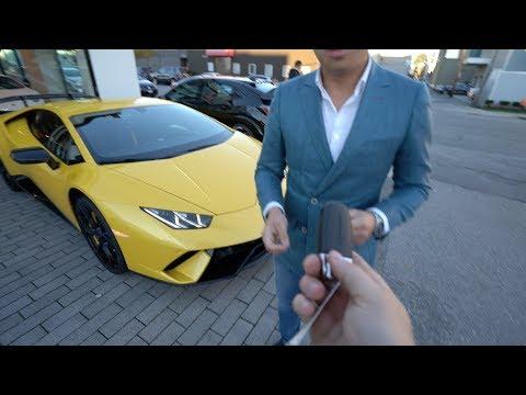 Picking Up The Lamborghini Huracan Performante
