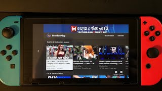 Nintendo Switch YouTube APP REVIEW - Watch PS4 on Switch