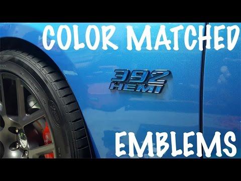 American Brother Designs Fender Emblems (2016 Dodge Charger Scat)