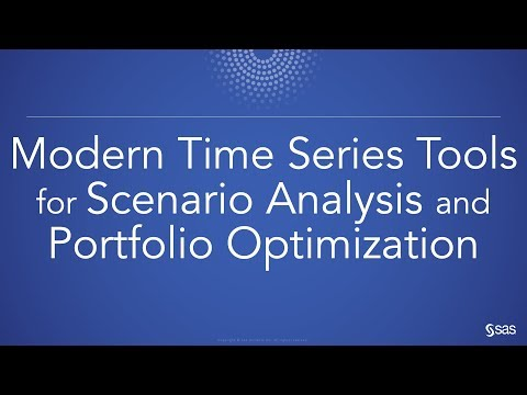 Modern Time Series Tools For Scenario Analysis And Portfolio Optimization