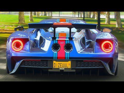 Forza Horizon 4 Ford GT 2018 Gameplay thumbnail