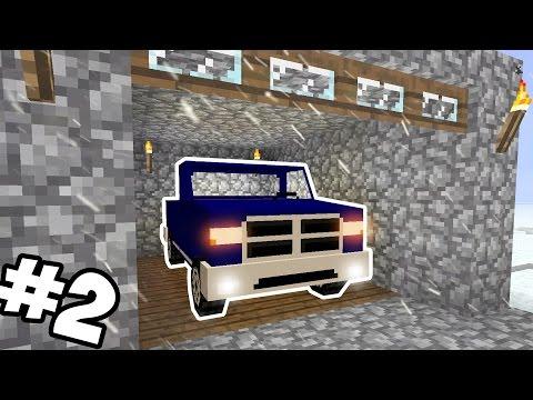 НОВОГОДНИЕ ПРИКЛЮЧЕНИЯ #2 - Гараж Для Машины! [Minecraft]