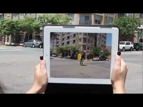 Location Based Augmented Reality, Cachetown :)
