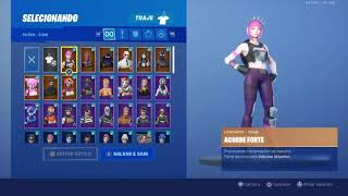 WATCHING FORTNITE ACCOUNT WITH PASS 3 TO 9 FULL WITH 126 SKIN PLUS SAVE THE WORLD