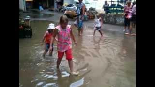 Большая вода и маленькие дети