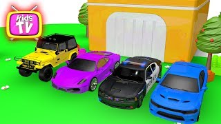 Learn Colors with cars. Colors For Children Race For Kids