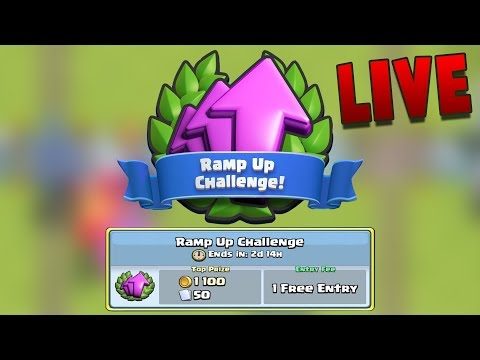 LIVE#75!! RAMP UP CHALLENGEE!!
