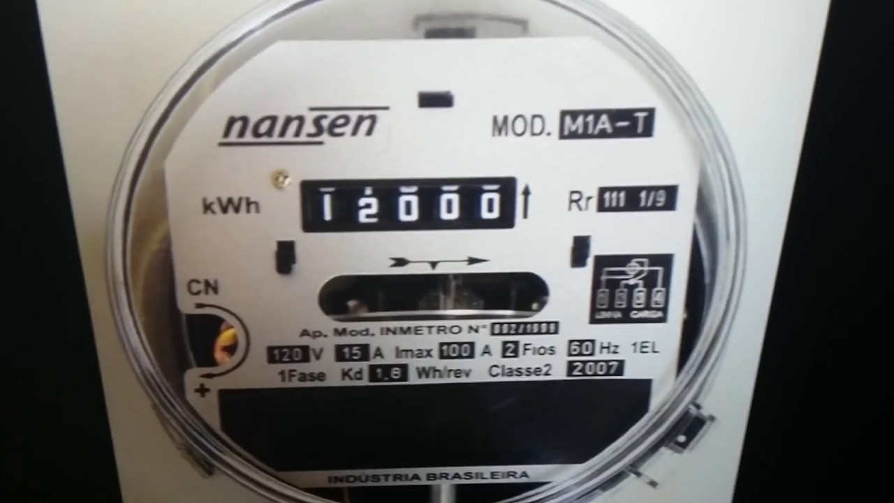 548fc94bb55 Como saber se o meu medidor de energia relógio de luz está funcionando  corretamente