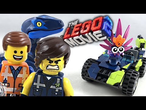 The LEGO Movie 2 Rex's Rex-treme Offroader review! 2019 set 70826!