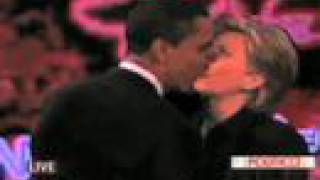 Obama and Hillary Kissing!