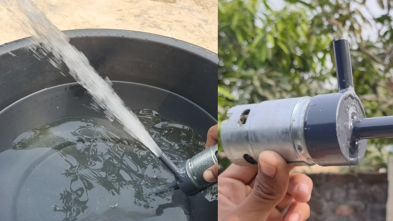 How to make Very Powerful Centrifugal Water Pump using 895 Motor