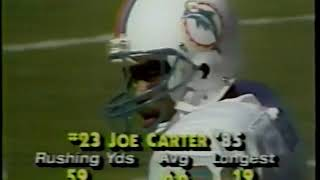 1985 week 16 Bills at Dolphins
