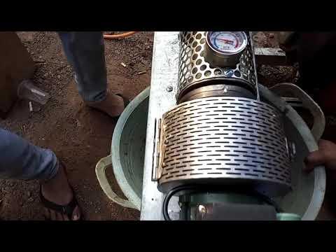 Mesin extruder pelet apung sederhana