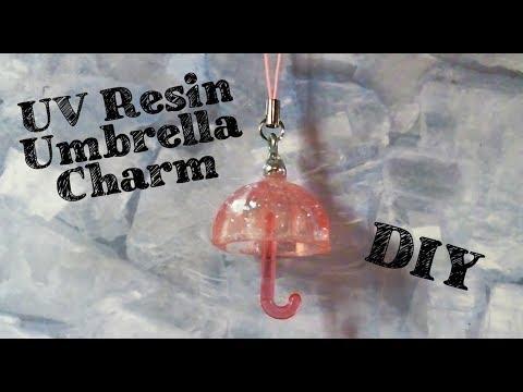 Resin Umbrella Charm Tutorial - Sophie & Toffee Elves December Box