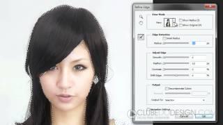 O jeito certo de selecionar e alterar a cor dos cabelos no Photoshop CS6