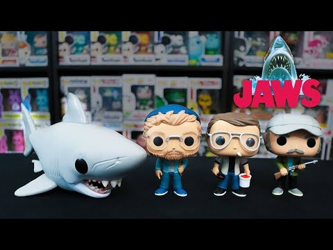 A First Look at The Entire Line of JAWS Funko Pops
