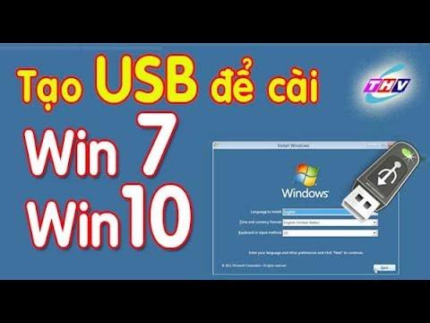 Tạo USB để cài Windows 7,8,10 đơn giản