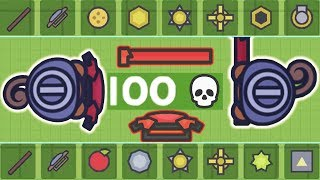 Moomoo.io - Is This The Worst Setup? - Stick & Shield Combo: 100 Kill Challenge (Episode 2)