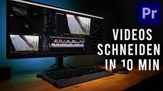 Adobe Premiere Pro Tut๐rial deutsch 2021 für Anfänger // Basics für das Video schneiden