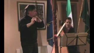 C.SAINT-SAENS - Romance op.37 per flauto e arpa