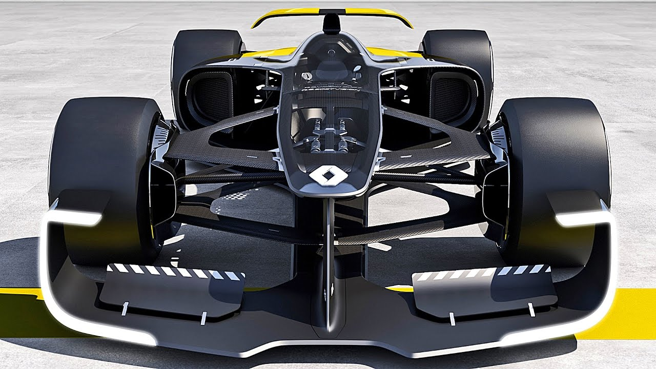 Beau The Future Formula 1 Car By Renault Sport [YOUCAR]