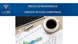 Régimen de precios de transferencia: Principio de plena competencia. DIAN [Derecho Tributario]