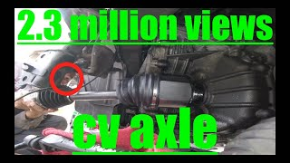 detailed CV Axle & [SEAL] Replacement NISSAN MURANO√ fix it angel
