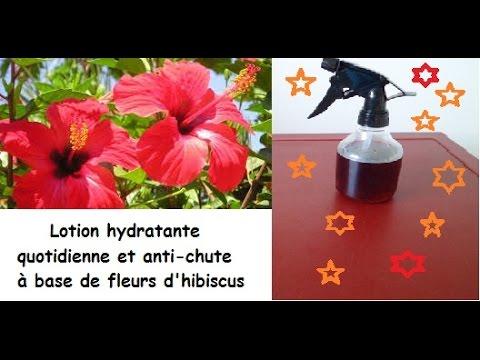 lotion hydratante la fleur d 39 hibiscus youtube. Black Bedroom Furniture Sets. Home Design Ideas