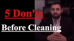 5 Don'ts Before Cleaning Out An Estate