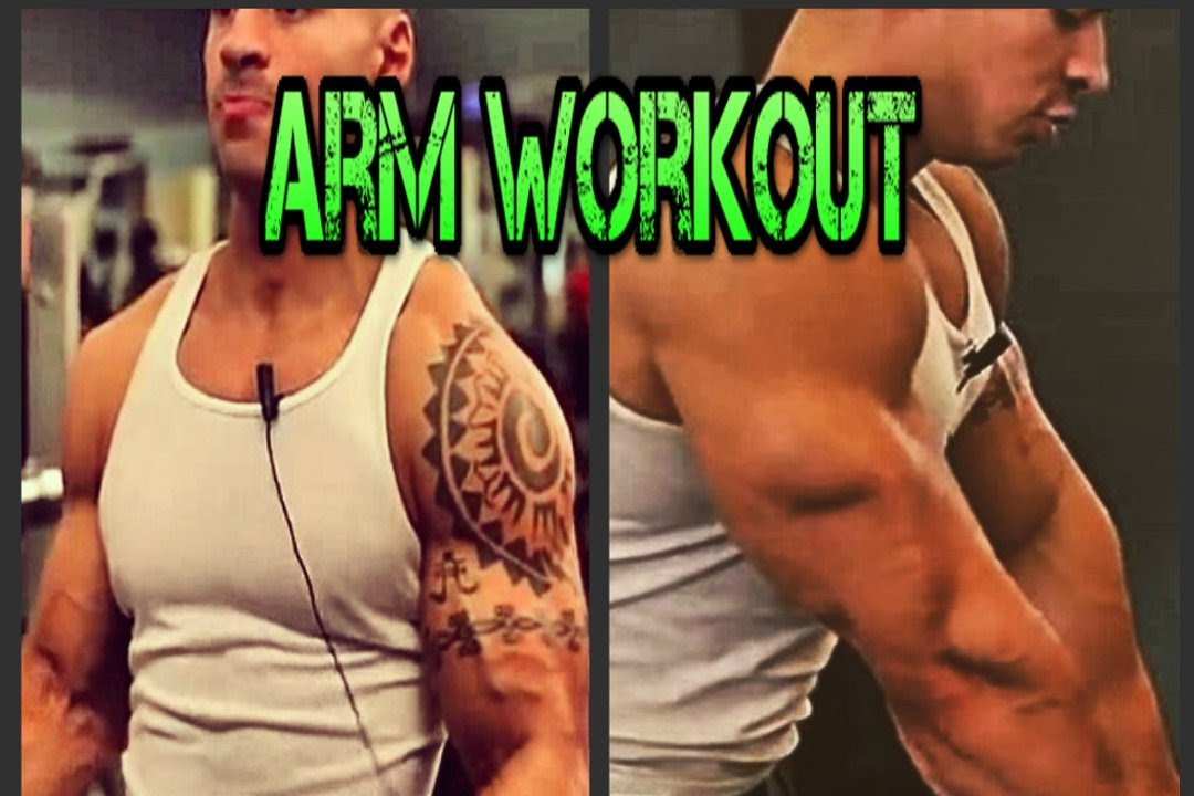 Bodybuilding Arm Workout How To Tone Your Arms Bicep Tricep Superset Routine