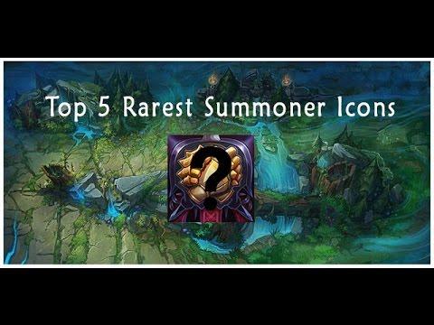 Top 5 Rarest League of Legends Icons