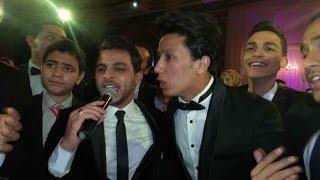 محمد رشاد يتألق في حفل زفاف عمرو جمال وسط نجوم الأهلي
