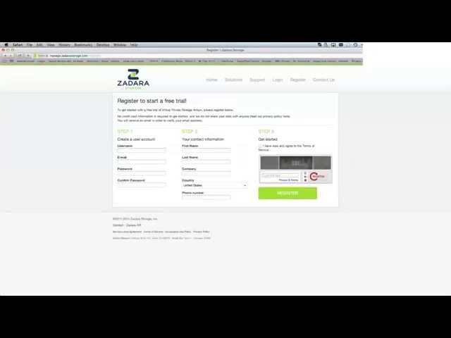 Episode 1: Zadara Storage - Virtual Private Storage Array (VPSA) How to Register