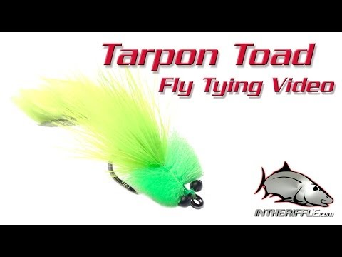 Tarpon Toad Fly Tying Video Instructions - Gary Merriman