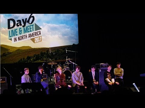 Day6 Live & Meet in North America Tour Los Angeles