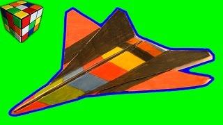 Самолет из бумаги. Как сделать самолёт оригами своими руками! Поделки из бумаги(Учимся рукоделию! Как сделать самолёт из бумаги! Бумажный Самолет-Истребитель Origami своими руками! Всё поэта..., 2015-11-21T14:59:53.000Z)