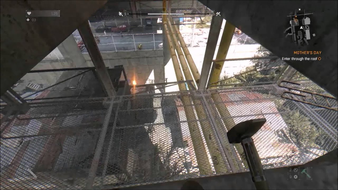 Dying Light Mothers Day Enter Through The Roof Youtube