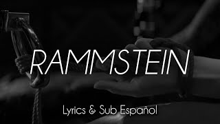 Rammstein - Ich Tu Dir Weh (Lyrics/Sub Español)