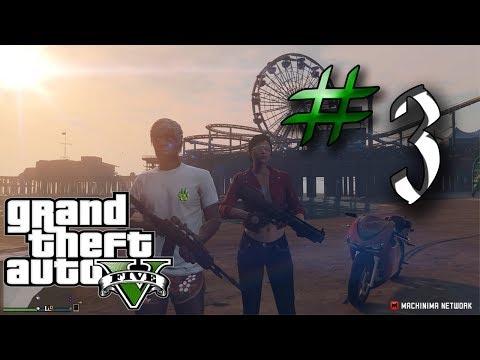 Grand Theft Auto V Online - Parte 3 - Golpe en el Pacific Standard!!!