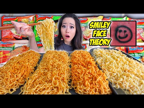 12x EVERY SINGLE FLAVOR INDOMIE GORENG NOODLES MUKBANG 먹방 | Eating Show להורדה