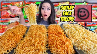 12x EVERY SINGLE FLAVOR INDOMIE GORENG NOODLES MUKBANG 먹방 | Eating Show