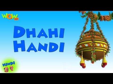 Dhahi Handi   Motu Patlu in Hindi WITH ENGLISH, SPANISH & FRENCH SUBTITLES