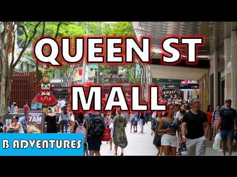Queen Street Mall, Brisbane City Australia