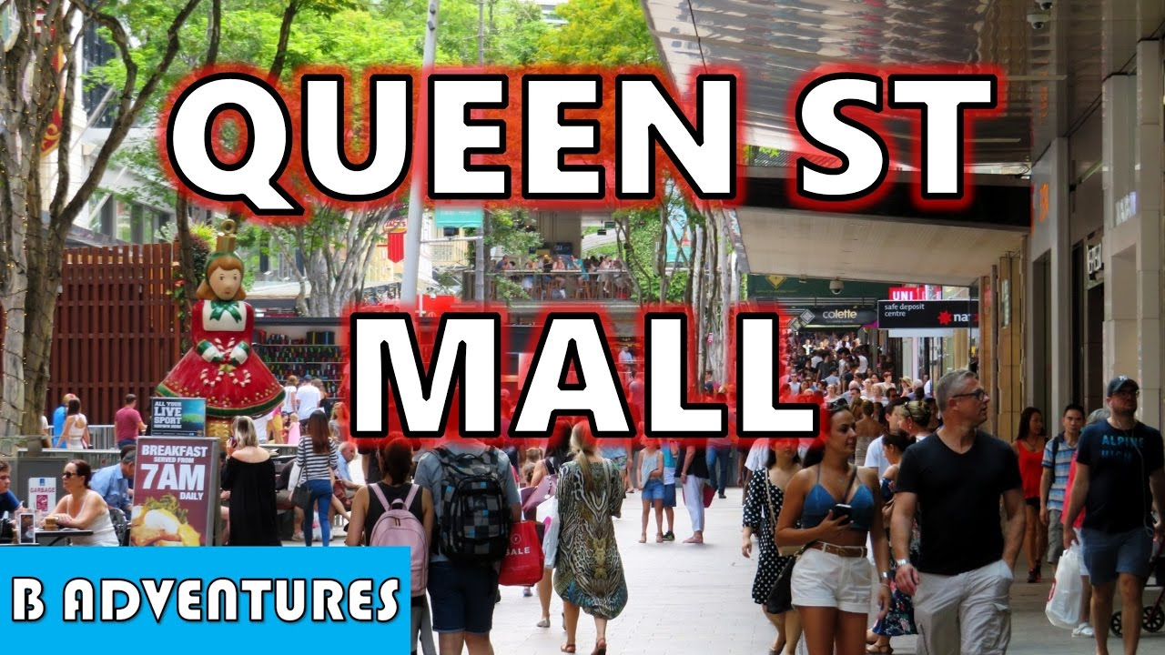 Mall Out Eating Queen Street