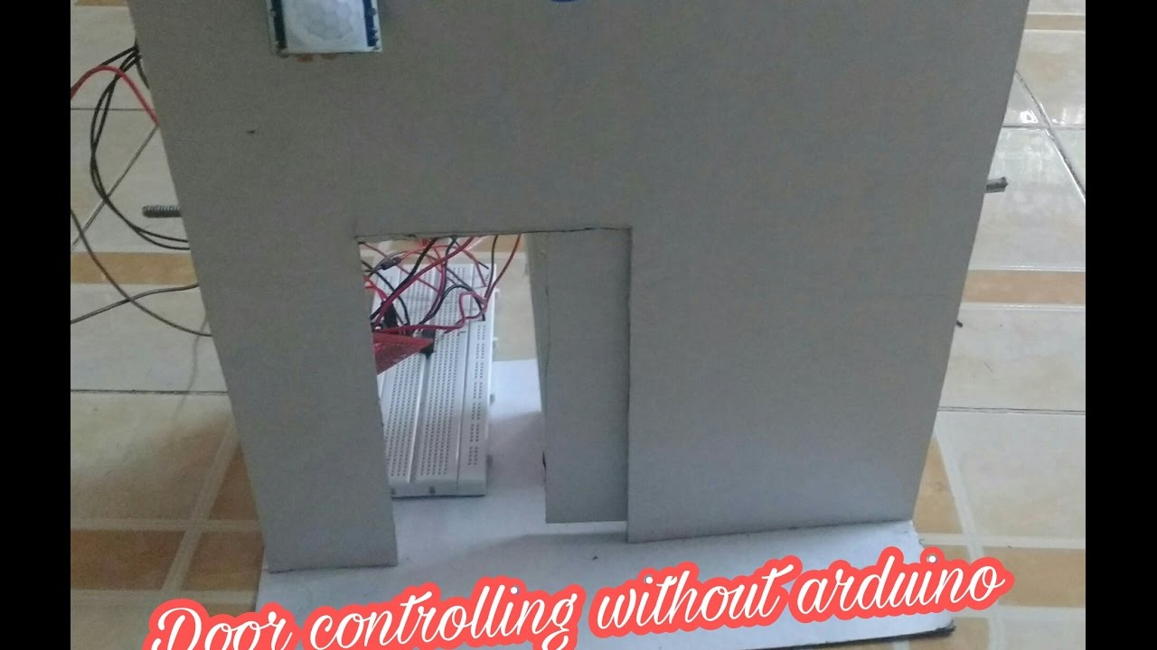 Automatic Door Control System Without Arduino Mechatronics