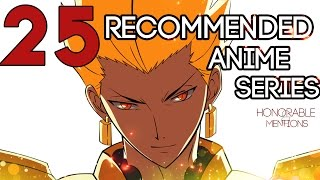 25 Recommended Anime Series - The Second Coming - 2015