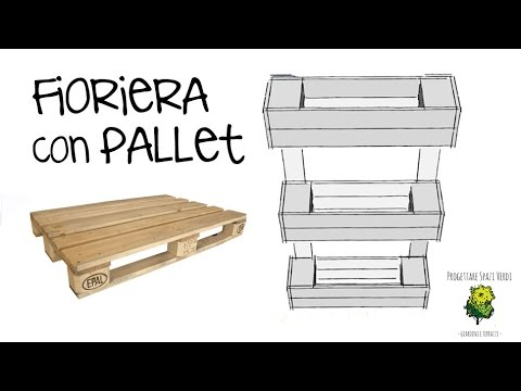 Arredare con i pallet tutorial come creare una for Pollaio fai da te con pallet