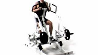 hammer strength row single arm)