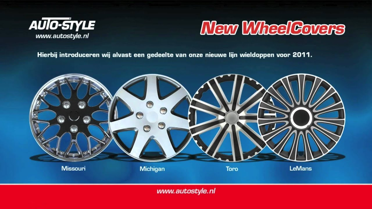 4 unidades Autostyle Tapacubos RST.