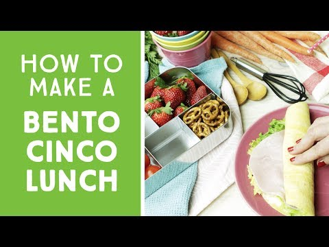 LunchBots Bento Cinco Stainless Steel Food Container